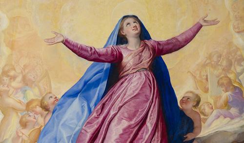 Giuseppe Valeriano (1542-1596) olio su tavola, cm 169,5 x 232;  collocato nella Cappella della Madonna della Strada nella chiesa del Gesù in Roma. Dopo il restauro del 2012 eseguito da Leonardo Severini